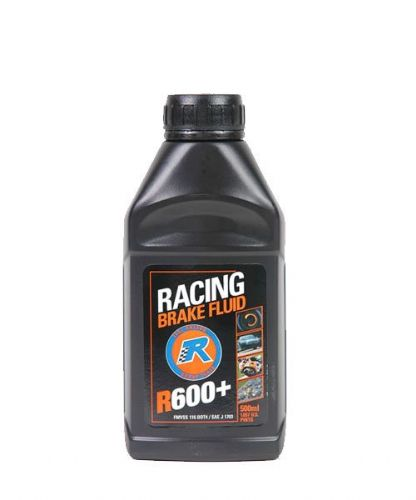 Racing Brake Fluid R600 + Extreme High Temperature  Fluid